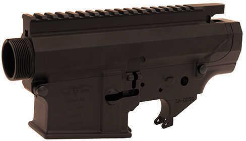 Lower Reveiver Black Dawn Stripped Upper/Lower BDR-10 Reciever Set Black