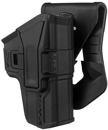 Mako Group Scorpus Paddle/Belt Holster Glock 9/40, Black, Right Hand Md: G-9-B