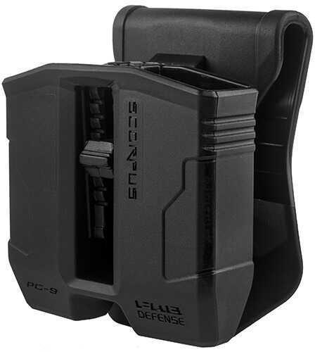 Mako Group Scorpus Paddle/Belt Magazine Pouch Glock 9/40, Black Md: PG-9-B