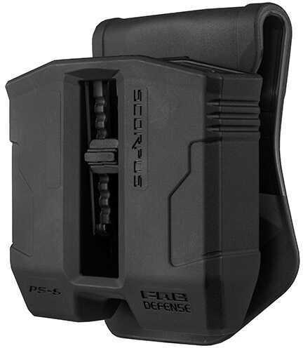 Mako Group Scorpus Paddle/Belt Magazine Pouch 9mm, Black Md: PS-9-B