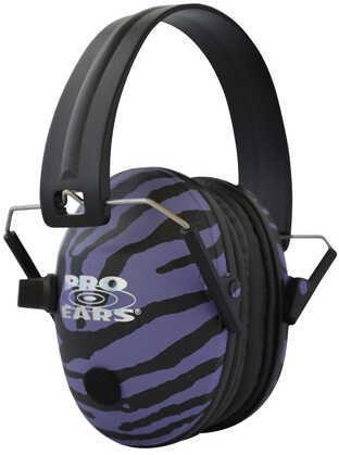 Pro Ears Pro 200 Noise Reduction Rating 19dB, Purple Zebra Md: P200PUZ