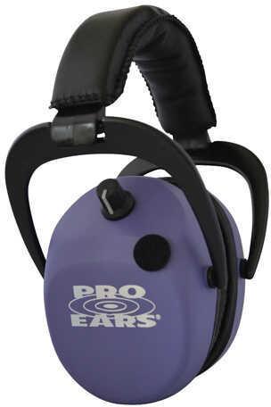 Pro Ears Stalker Gold Noise Reduction Rating 25dB, Purple Md: GSDSTLPU