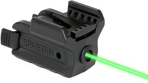 LaserMax Spartan Rail Mounted Laser, Green Md: SPS-G