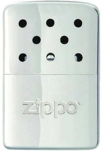 Zippo Outdoors Hand Warmer High Polish Chrome Md: 40321