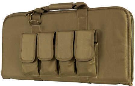 """NcStar 28"""" Subgun AR and AK Pistol Case Tan Md: CVCP2960T-28"""