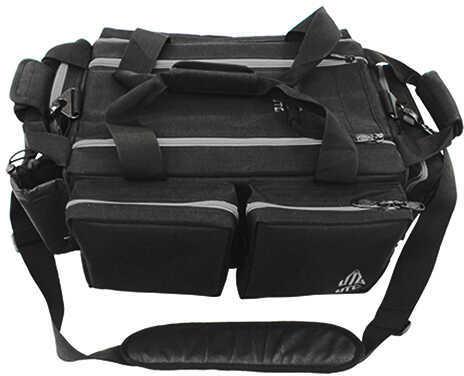 Leapers Inc. UTG All-In-One Range Bag Black/Silver Md: PVC-P768BM