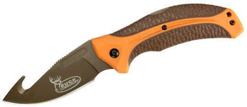 Kershaw Lonerock Folding Gut Hook, Clam Package Knife
