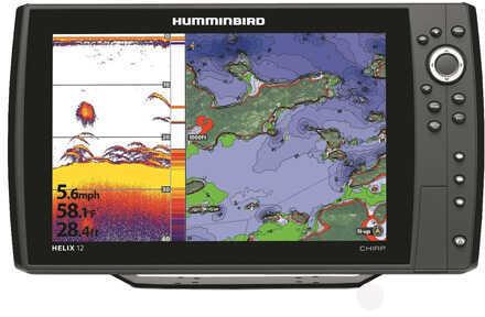 Humminbird Helix 12 Chirp GPS Md: 410000-1