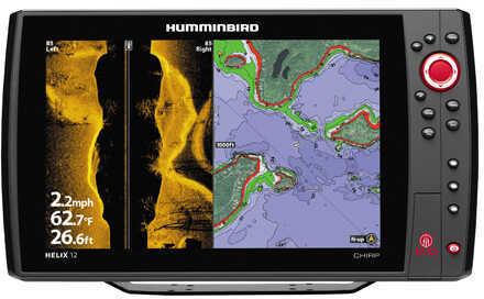 Humminbird Helix 12 Chirp SI GPS KVD Md: 410030-1KVD