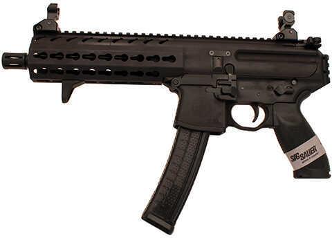 "Sig Sauer MPX Pistol 9mm Luger 8"" PDW NoStock AL KM HG 30rd"