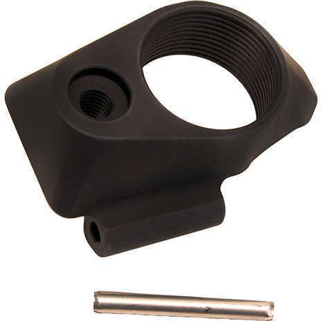 SigTac Part Multi Caliber, Threaded, Aluminum, Black Md: ADAPTER-PSB-T-BLK