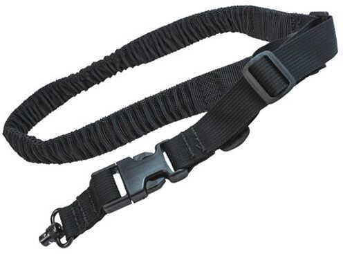 SigTac Single Point Tactical Sling, Black Md: SLING-BUNGEE-1PT-TAC