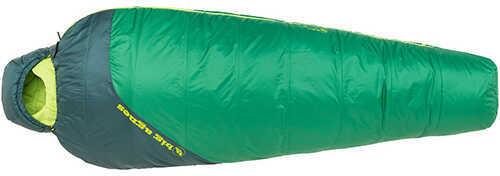 Big Agnes Buell 30 Mummy Sleeping Bag Synthetic, Amazon/Pine, Regular, Left Hand Zipper Md: BTMBRL16