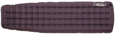 "Big Agnes Double Z Double Stuffed Sleeping Pad 20"" x 72"" x 4"", Regular, Eggplant Md: PDSDZR16"