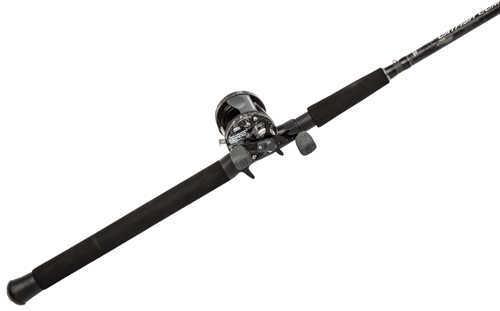 Abu Garcia Catfish Commando Cast Combo 6500, 5.1:1 Gear Ratio Reel & 7' 1-Piece Rod, Ambidextrous