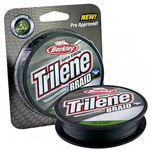 Berkley Trilene Braid Professional Grade Spool 15 lb Strength, 150 Yards, Low-Vis Green