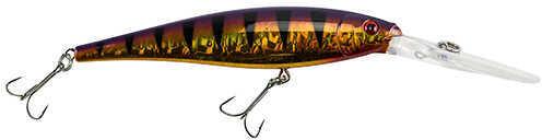 "Berkley Flicker Minnow Pro Slick 4 1/2"" Length, Slick Purple Bengal, Pack Of 1"