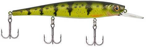"Berkley Skinny Cutter 110+, 4 3/8"" Length Yellow Perch, Pack Of 1"