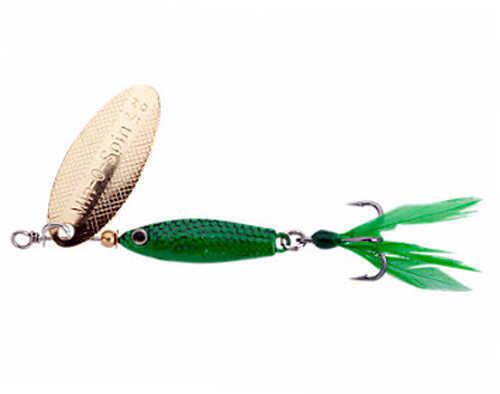 "Johnson Min-O-Spin 1/2"" Length, 1/24 oz, Green Grasshopper Md: 1371925"