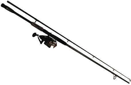 Penn Fierce II Combo 6000, 5.6:1 Gear Ratio, 20 lb Max Drag, 9' 2pc Rod, Medium/Heavy, Ambidextrous Md: 1