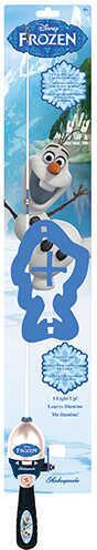 "Shakespeare Disney Frozen Olaf Lighted, 2'6"" Length, 1 Piece Rod, Medium Power, Right Hand Md: 1373298"