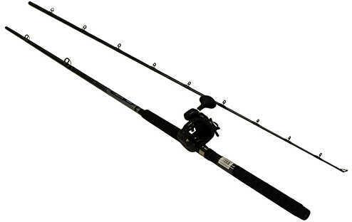 Okuma Great Lakes Trolling Combo 9' Length, 2 Piece Rod, Medium/Heavy Action, 2BB Bearings Md: CP-DD