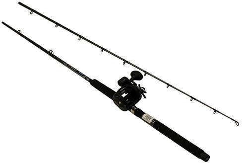 "Okuma Great Lakes Trolling Combo 8'6"" Length, 2 Piece Rod, Medium Action, 2BB Bearings Md: CPDR-862M"