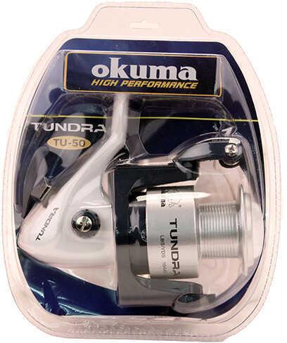 Okuma Tundra Spinning Reel 50, 4.5:1 Gear Ratio, 1BB Bearings Md: TU-50-CL