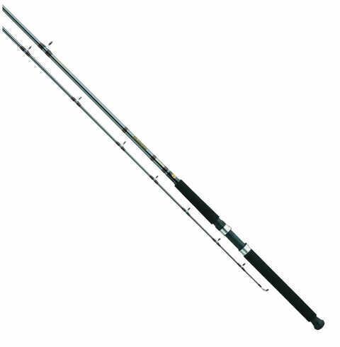 Daiwa Wilderness Downrigger Trolling Rod 8' Length, 2 Piece Rod, Medium Power, Regular Action Md: WLDR802M