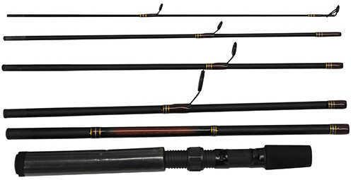 "Daiwa Wilderness Fly Pack, 6'6"" Length 6 Piece Rod, Light Power Regular Action Md: WN666SFBP"