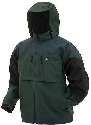 Frogg Toggs Anura Toadz Rain Jacket Green/Slate/Black, X-Large Md: NT65120-10977XL