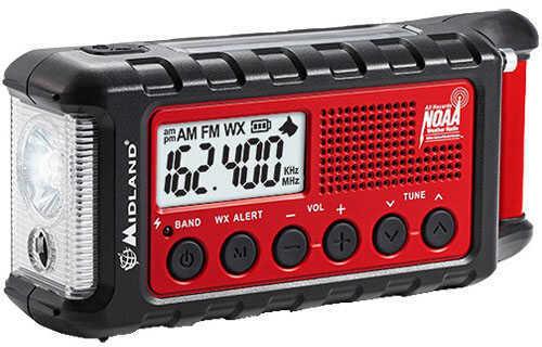 Midland Radios Dynamo Crank Radio With AM/FM/Weather Alert/2600mAH Md: ER310