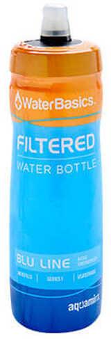Aquamira WaterBasics Blu Line Filtered Water Bottle (BLU-I-60)