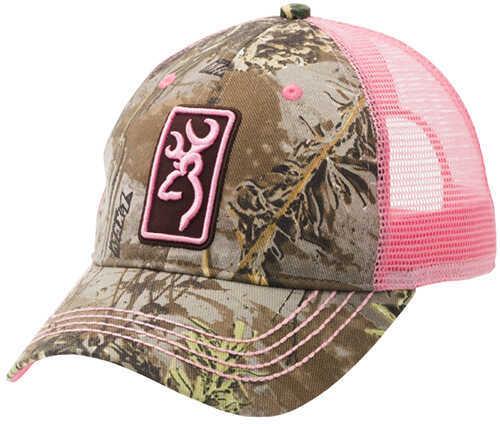 Browning Conway Cap Realtree Max-1/Pink Md: 308175231