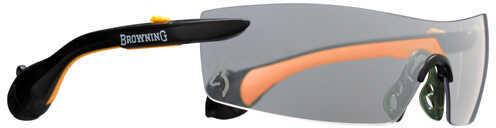Browning Sound Shield, Indoor/Outdoor Shooting Glasses Men's, Large, Orange Md: 12747