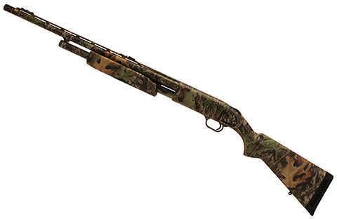 "Mossberg 500  20 Gauge Shotgun  22"" Barrel   Fiber Optic  Sights  6 Round"