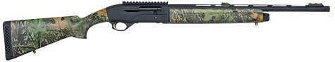"Mossberg SA-20 20 Gauge Shotgun  22"" Vented Rib  Barrel  3"" Chamber   Fiber Optic 3 Dot Sights  Mossy Oak OB Camo  Black Receiver  5 Rounds"
