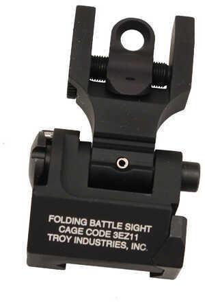 Troy Industries Rear Folding Back-Up Sight, Black Md: SSIG-FBS-R0BT-00-GS