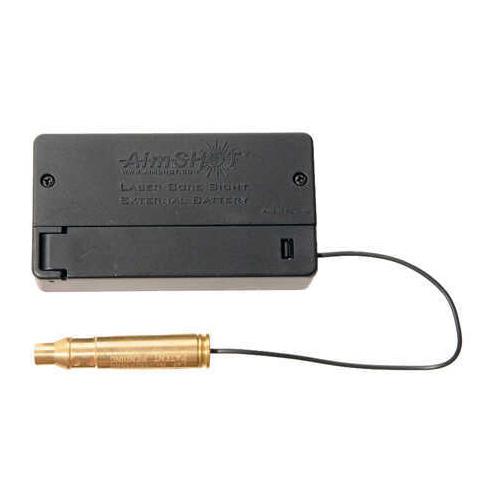 Aimshot 223 Remington Modular Laser Bore Sight With Standard & External Batteries Md: MBS223