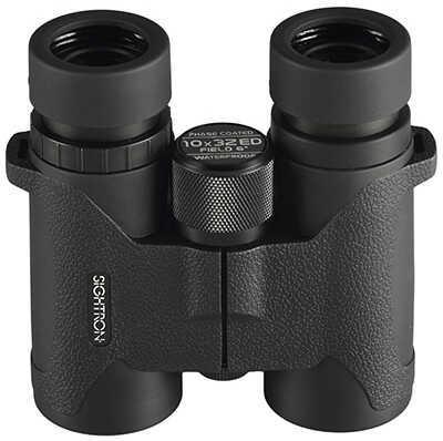 Sightron SIII Series Binoculars 10x32mm, Roof Prism, Black Rubber Finish Md: 25164