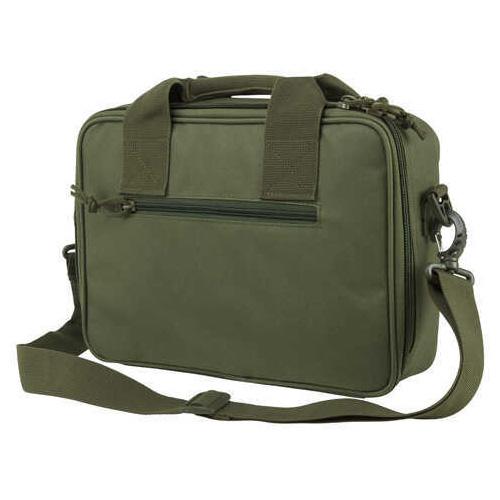 NcStar Double Pistol Range Bag Green Md: CPDX2971G