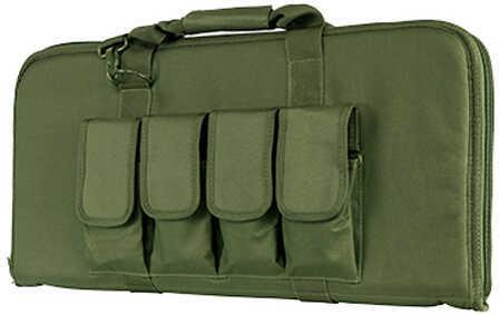 """NcStar 28"""" Subgun AR and AK Pistol Case Green Md: CVCP2960G-28"""