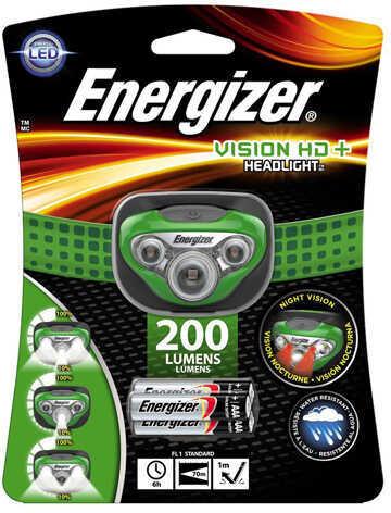 Energizer Vision Headlamp HD+ LED, 200 Lumens Md: HDC32E