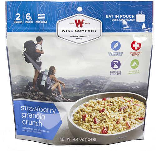Wise Foods Dessert Dish Strawberry Granola Crunch, 2 Servings Md: 03-907