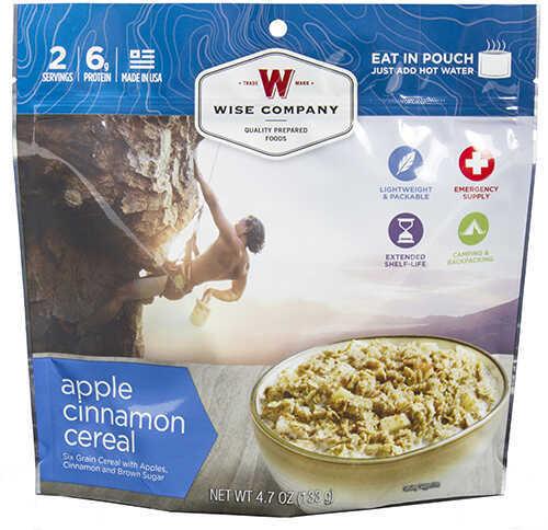 Wise Foods Dessert Dish Apple Cinnamon Cereal, 2 Servings Md: 03-908