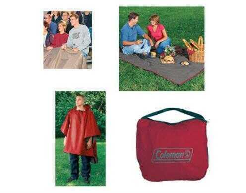 Coleman 3-In-1 Sleeping Bag Blanket Md: 2000019654