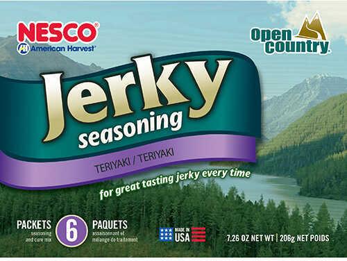 Open Country Jerky Spice Teriyaki, 6 Pack Md: BJT-6