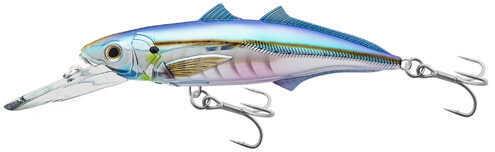 "LIVETARGET Lures / Koppers Fishing and Tackle Corp LiveTarget Lures Cigar Minow Jerkbait 6"", Number 2/0 Hook Size, 15'-20' Depth, Pearl/Blue Md: CMJ152"