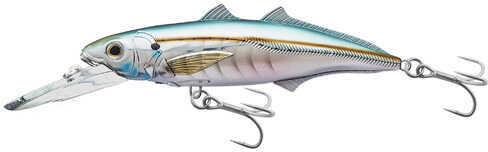 "LIVETARGET Lures / Koppers Fishing and Tackle Corp LiveTarget Lures Cigar Minow Jerkbait 6"", Number 2/0 Hook Size, 15'-20' Depth, Pearl/Aqua Md: CMJ152"