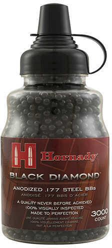 Umarex USA Hornady .177 Caliber Black Diamond Steel BBs, Per 3000 Md: 2211057